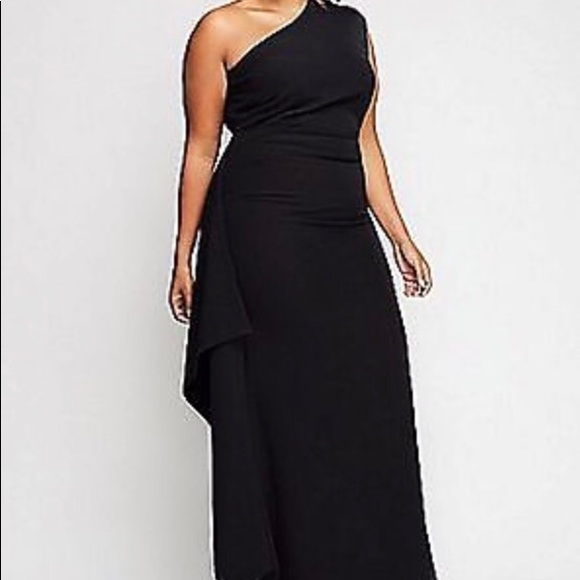 aa512415e536c9 Christian Siriano Dresses   Skirts - Christian Siriano lane bryant black dress  gown New